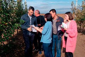 Агрономическая поддержка: осенний выезд