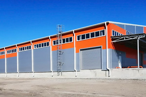 Новый складской комплекс в Краснодаре